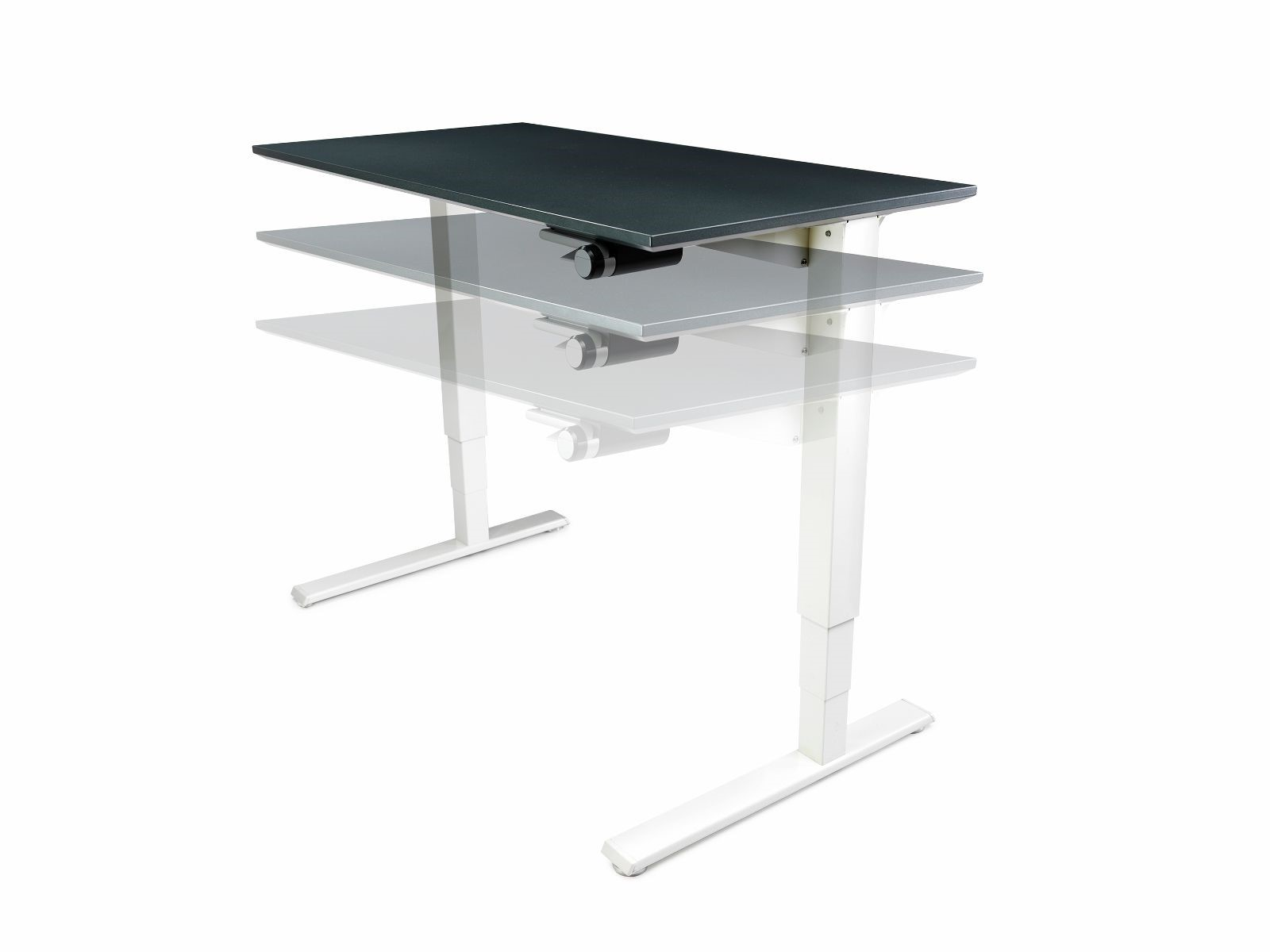 humanscale float large height adjustable desk 1500 to 1800 mm hsfll