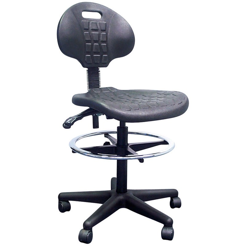PU Industrial Drafting Chair