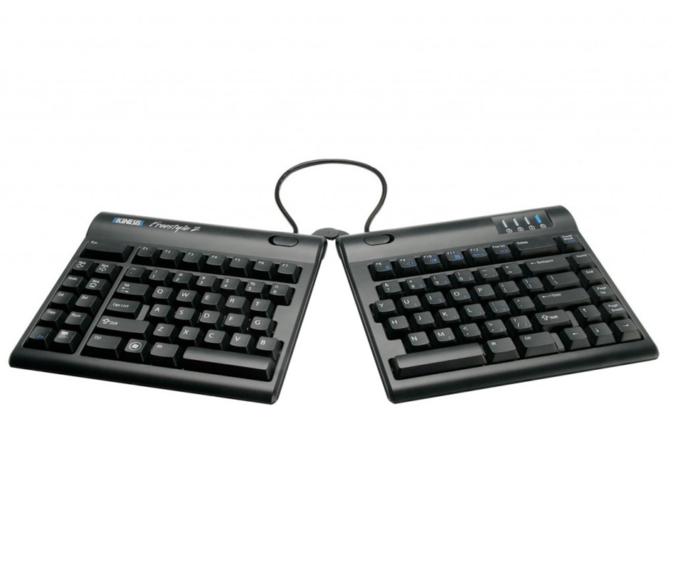 "Kinesis Freestyle 2 Keyboard - 20cm (8"") Cord Separation"