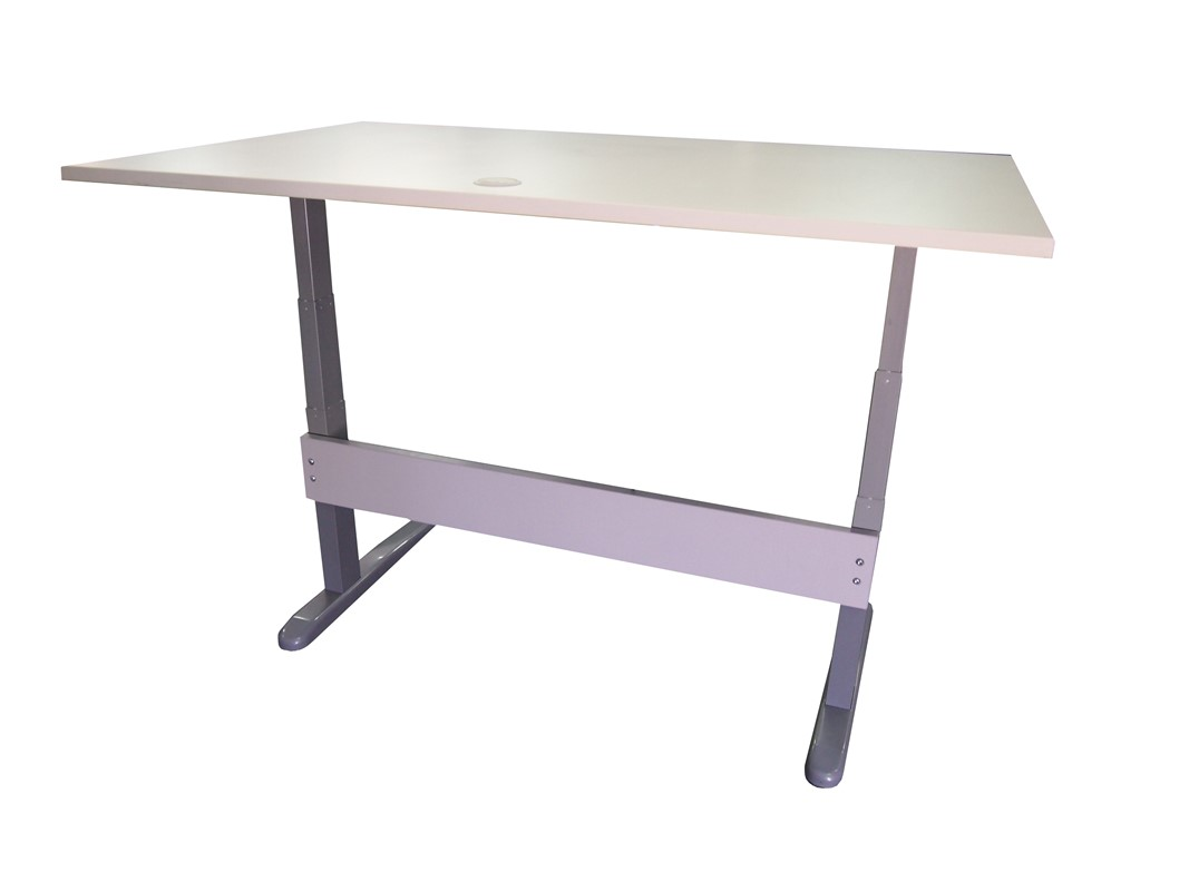 Accord Height Adjustable Straight Desk Large