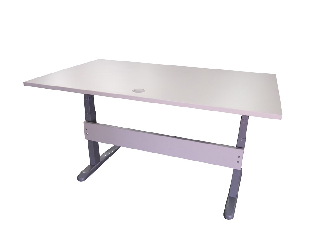 Accord Height Adjustable Straight Desk Medium