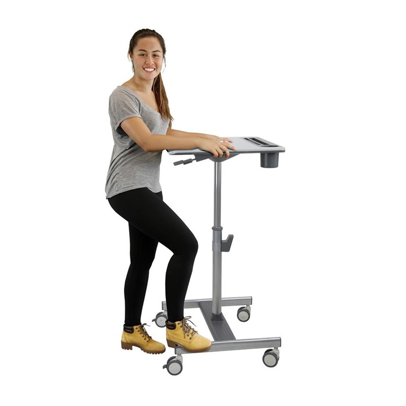 Ergotron Learnfit SE Sit Stand Cart Medium