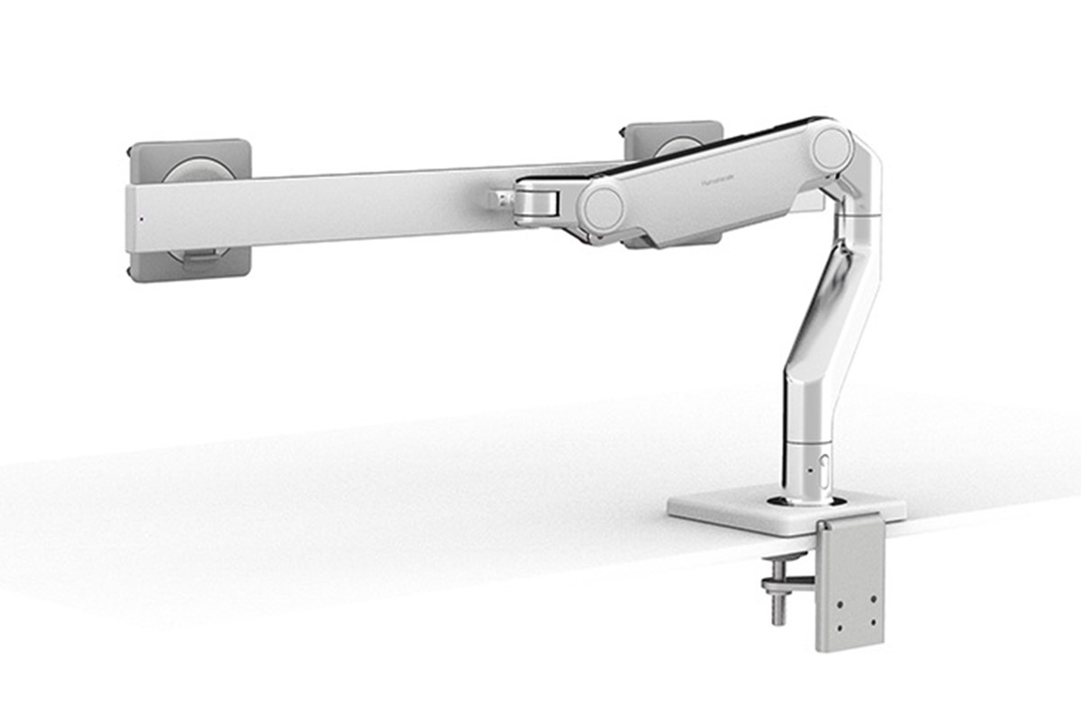 Humanscale M8.1 Dual Monitor Arm (with Crossbar)