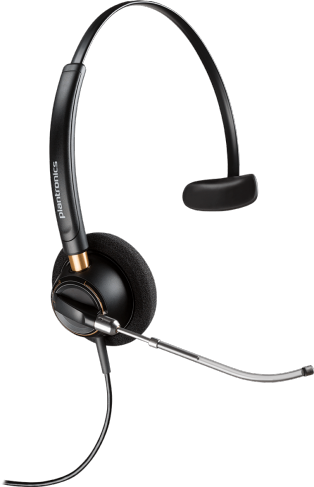 Plantronics EncorePro HW510V Corded Monaural Headset with Voice Tube