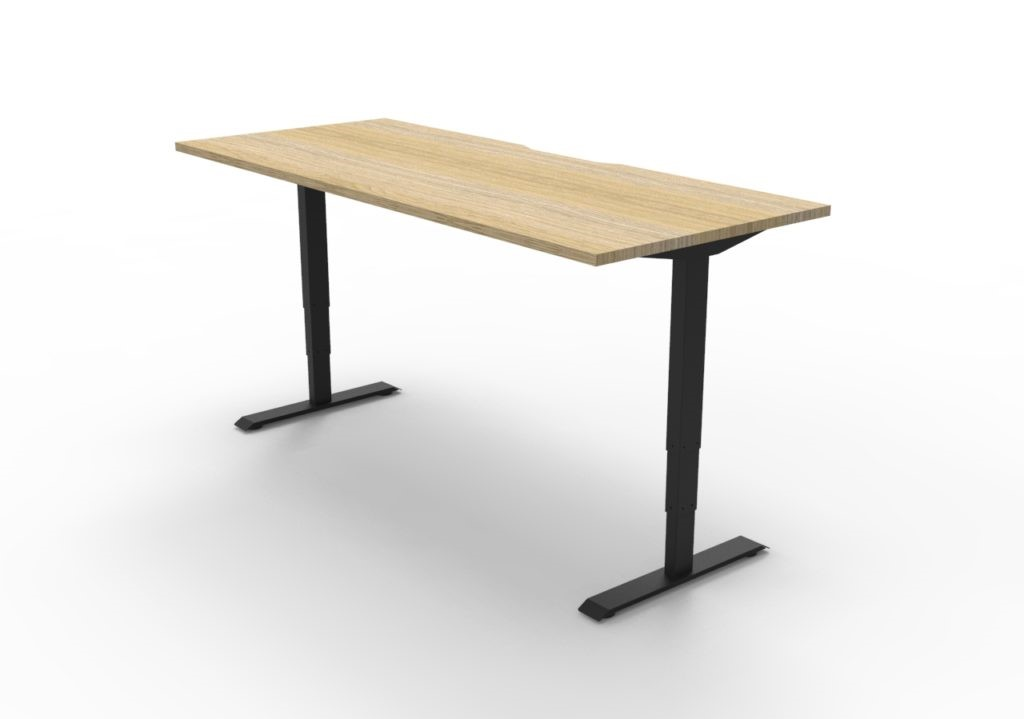 Boost Straight Height Adjustable Desk (1200 to 1800 mm)
