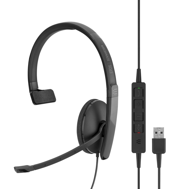 Sennheiser ADAPT 130 Wired Monaural USB Computer Headset