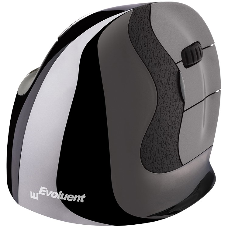 Evoluent D Series Vertical Mouse - Right Hand Cordless