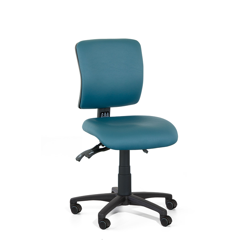 Gregory Medical Square Medium Back Large Seat Chair